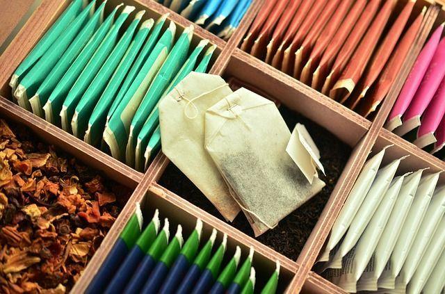 Jeden Tag einen anderen TeebeutelDie perfekte Idee für Teeliebhaber! Um dafü...