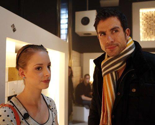 Als Lara auf Michael trifft, kommt ihr spontan eine Idee ... - Bildquelle: David Saretzki - Sat1