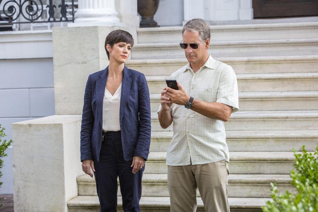 Ein neuer Fall wartet auf Pride (Scott Bakula, r.) und Brody (Zoe McLellan, l.) ... - Bildquelle: 2014 CBS Broadcasting Inc. All Rights Reserved.