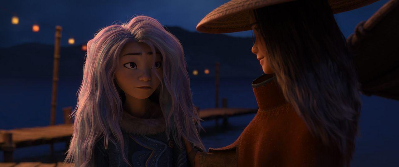 Sisu (l.); Raya (r.) - Bildquelle: 2021 Disney
