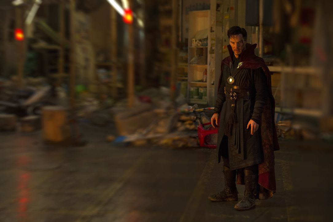 Dr. Stephen Strange (Benedict Cumberbatch) - Bildquelle: Jay Maidment 2016 Marvel. All Rights Reserved. / Jay Maidment