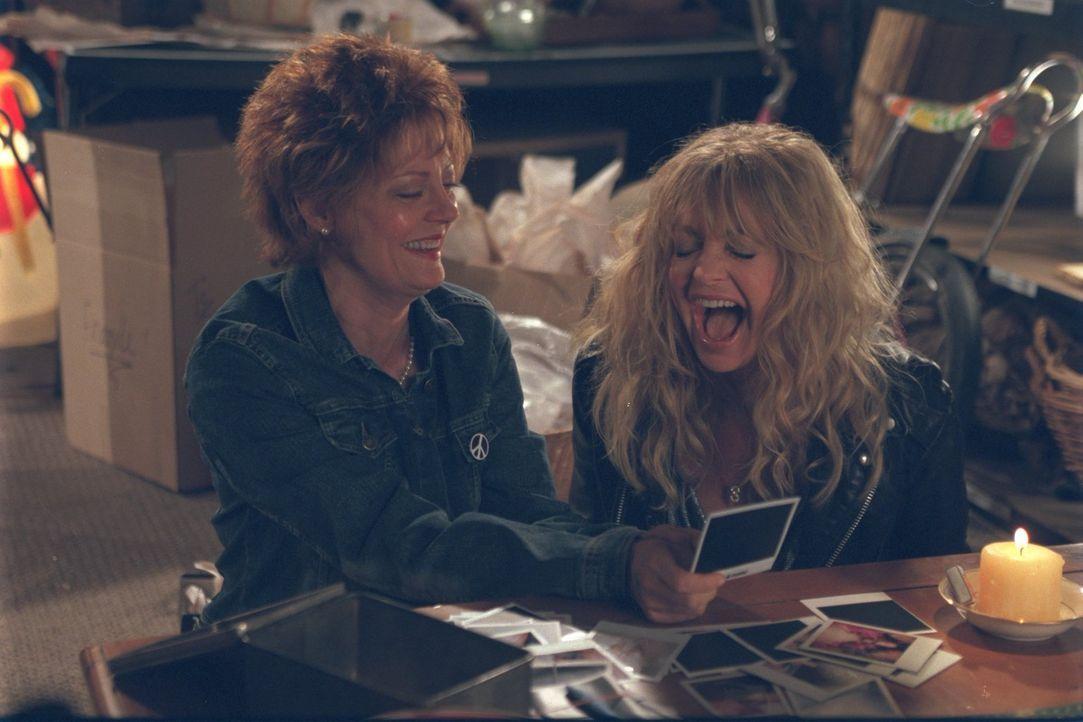 Suzette (Goldie Hawn, r.) ist Anfang 50, pleite und ihren Job als Barkeeperin los. Nun beschließt sie, zu ihrer ehemals besten Freundin Lavinia (Sus... - Bildquelle: 2002 Twentieth Century Fox Film Corporation. All rights reserved.