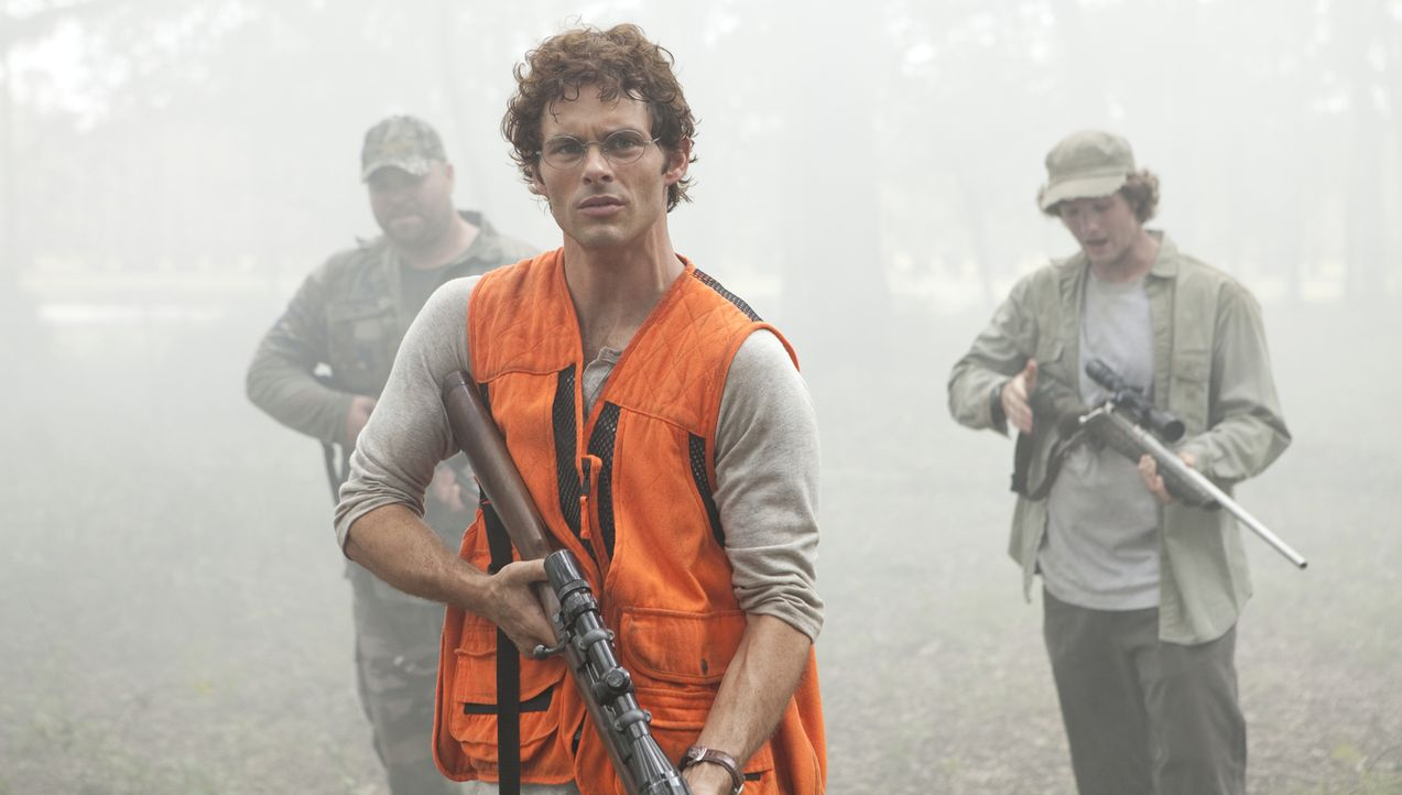 Als David (James Marsden) von Charlie und seiner Clique zu einer scheinbar harmlosen Jagdpartie eingeladen wird, ahnt er nicht, dass diese in einer... - Bildquelle: Steve Dietl 2011 CTMG, Inc.  All Rights Reserved.