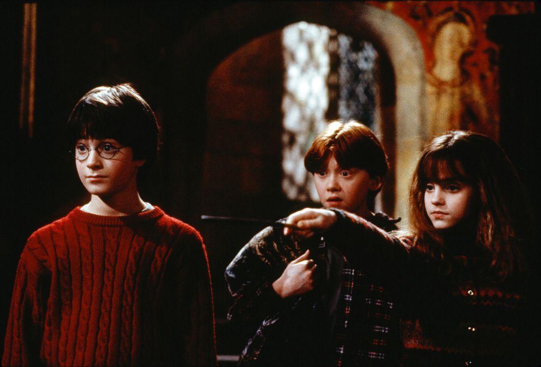 Harry Potter und der Stein der Weisen - Bildquelle: Warner Bros. Pictures