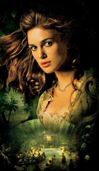 Muss zu einem Trick greifen, um ihren Will retten zu können: Elizabeth (Keira Knightley) ... - Bildquelle: Disney Enterprises, Inc.  All rights reserved