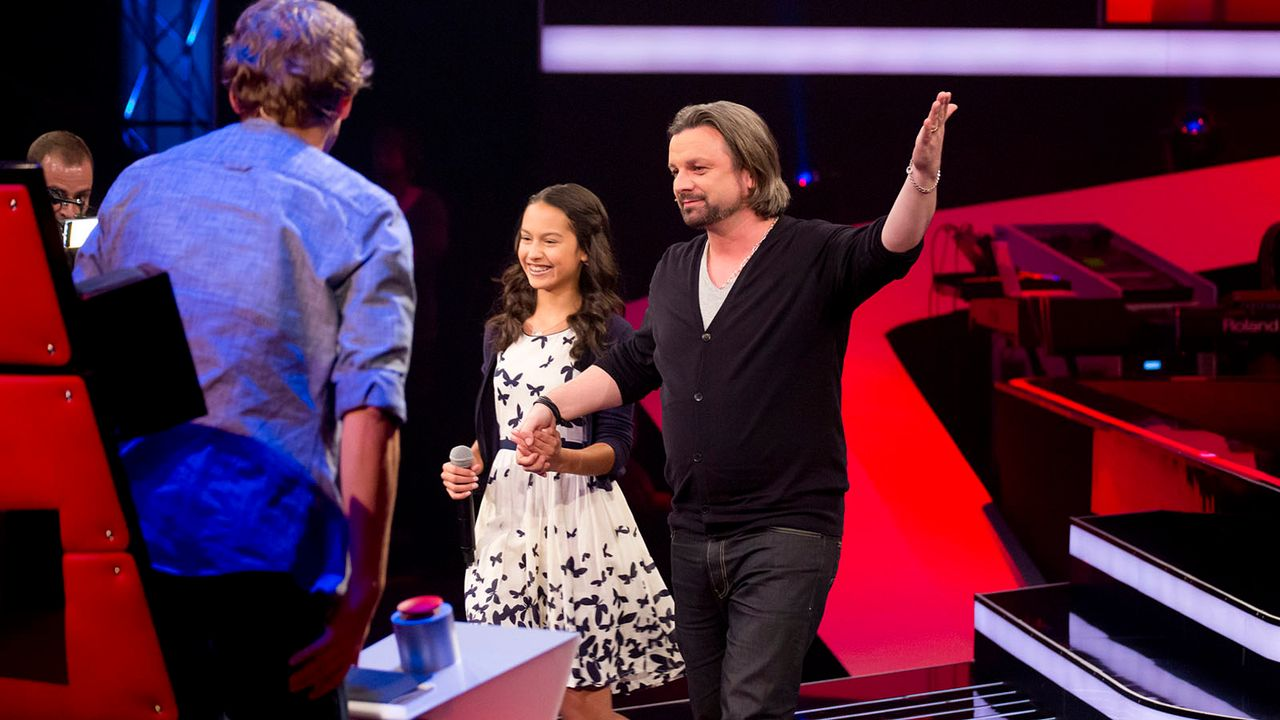The-Voice-Kids-s01e01-Maira-049 - Bildquelle: SAT.1/Richard Hübner