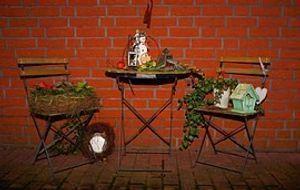 Deko alte Gartenmöbel