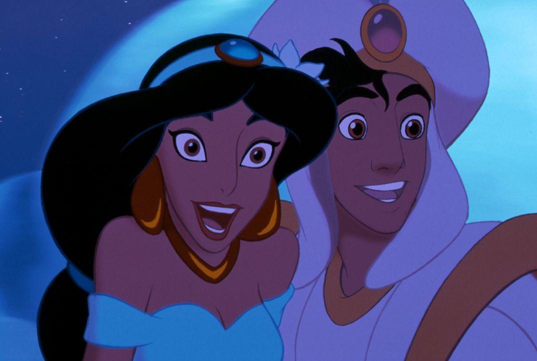 Jasmin (l.); Aladdin (r.) - Bildquelle: The Walt Disney Company