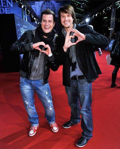 Rocco Stark und Christopher Kohn. - Bildquelle: Sat 1 Succo Media Ralf Succo