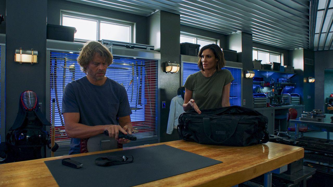 Marty Deeks (Eric Christian Olsen, l); Special Agent Kensi Blye (Daniela Ruah, r.) - Bildquelle: Sonja Flemming 2020 CBS Broadcasting Inc. All Rights Reserved. / Sonja Flemming