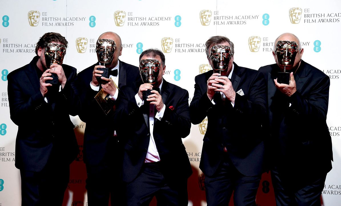 BAFTA-160214-12-toncrew-reverent-dpa - Bildquelle: dpa