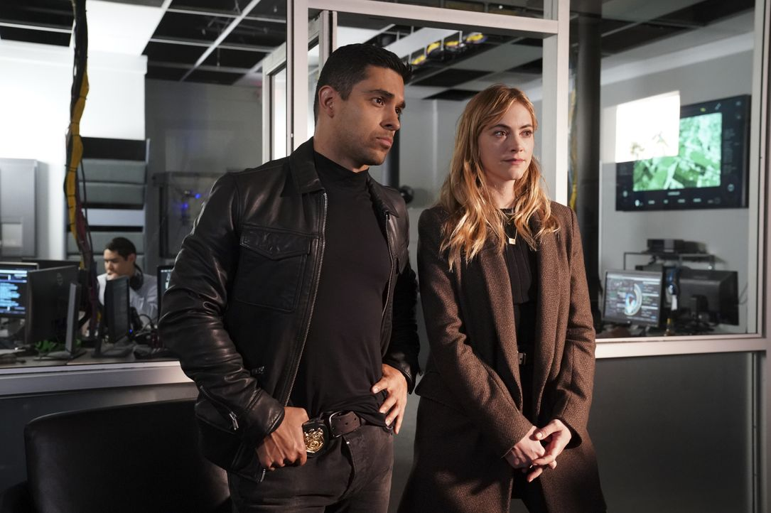 Nick Torres (Wilmer Valderrama, l.); Ellie Bishop (Emily Wickersham, r.) - Bildquelle: Monty Brinton 2019 CBS Broadcasting, Inc. All Rights Reserved / Monty Brinton