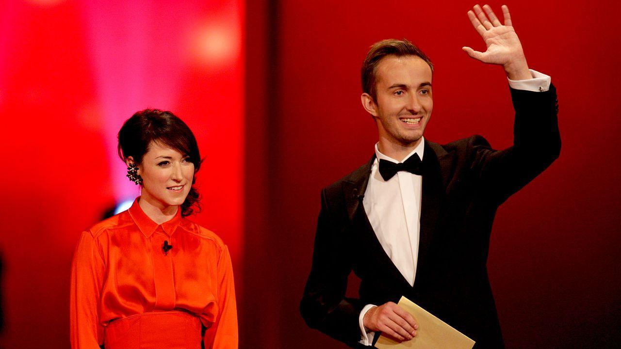 Deutscher-Fernsehpreis-121002-21-roche-boehmermann-dpa.jpg - Bildquelle: dpa
