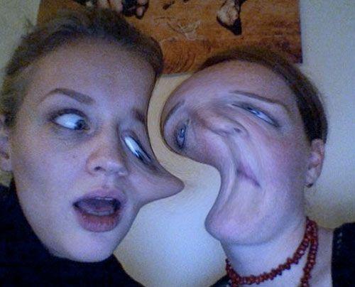 Verena mit Freundin Nici. - Bildquelle: privat