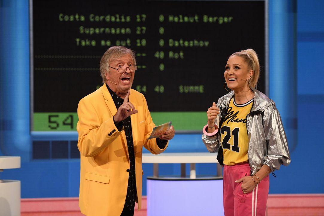 Werner Schulze-Erdel (l.); Janine Kunze (r.) - Bildquelle: Steffen Z. Wolff SAT.1 / Steffen Z. Wolff