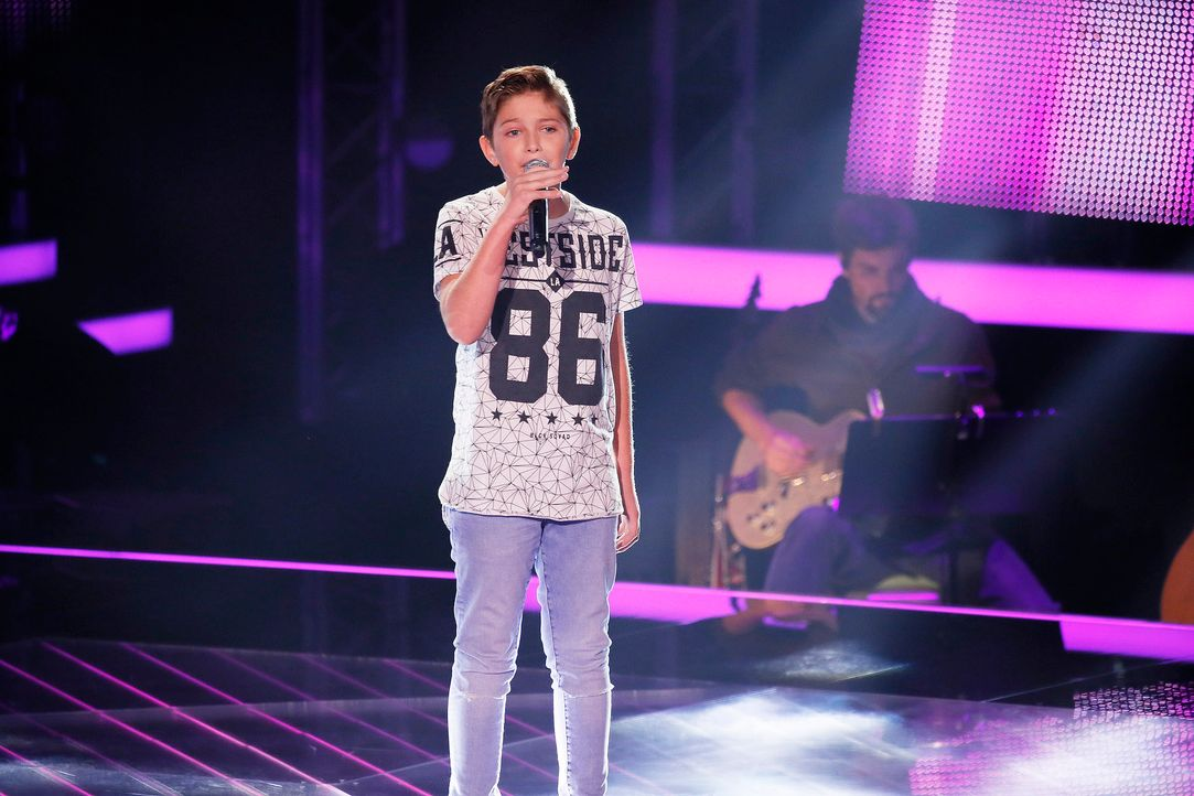 The-Voice-Kids-Stf04-Epi03-Jaimy-SAT1-Richard-Huebner - Bildquelle: SAT.1/ Richard Hübner