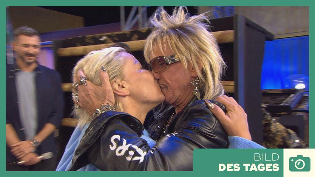 """""""Promi Big Brother"""" 2019 - Tag 10: Wiedersehen zwischen Ginger und Bert - Bildquelle: SAT. 1"""