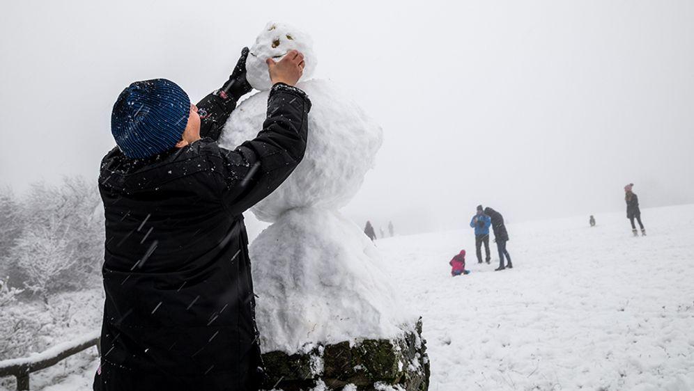 Wintereinbruch Deutschland
