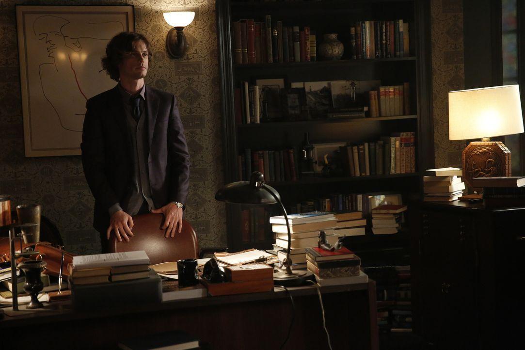 Reid (Matthew Gray Gubler) hat einen Entschluss gefasst: Er will seiner Mutter keine weiteren Studien mehr zumuten und holt sie zu sich nach Hause.... - Bildquelle: Cliff Lipson 2016 ABC Studios. All rights reserved.