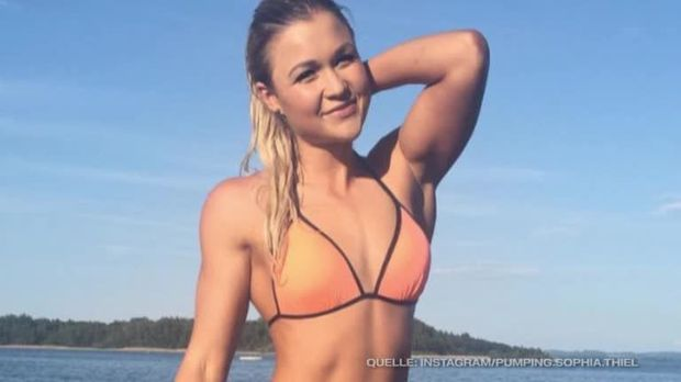 """Traumfigur"": Sophia Thiel zeigt ihren sexy Bikini-Body"