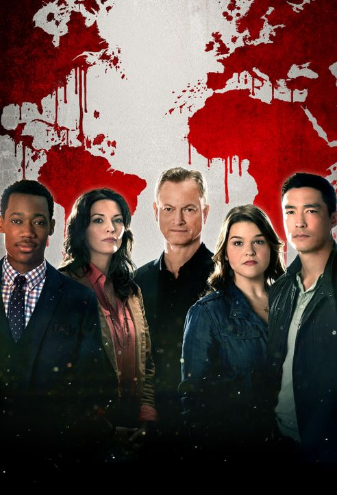 (1. Staffel) - Sie lösen internationale Fälle, in die US-Bürger verwickelt sind: Russ Montgomery (Tyler James Williams, l.), Clara Seger (Alana De L... - Bildquelle: ABC Studios