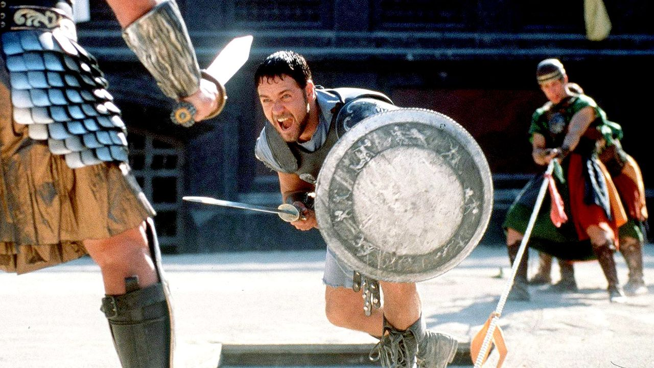 Gladiator-Film-Russell-Crowe-Universal-dpa - Bildquelle: dpa