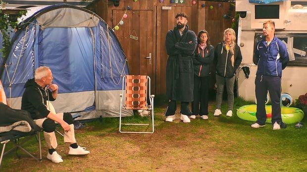 Promi Big Brother - Promi Big Brother - Tag 4: Camping-koller