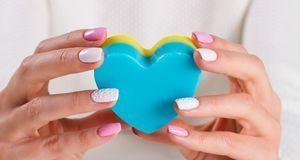 Ob einfarbig, mit zwei oder vielen verschiedenen Farben – zeigen Sie Herz!