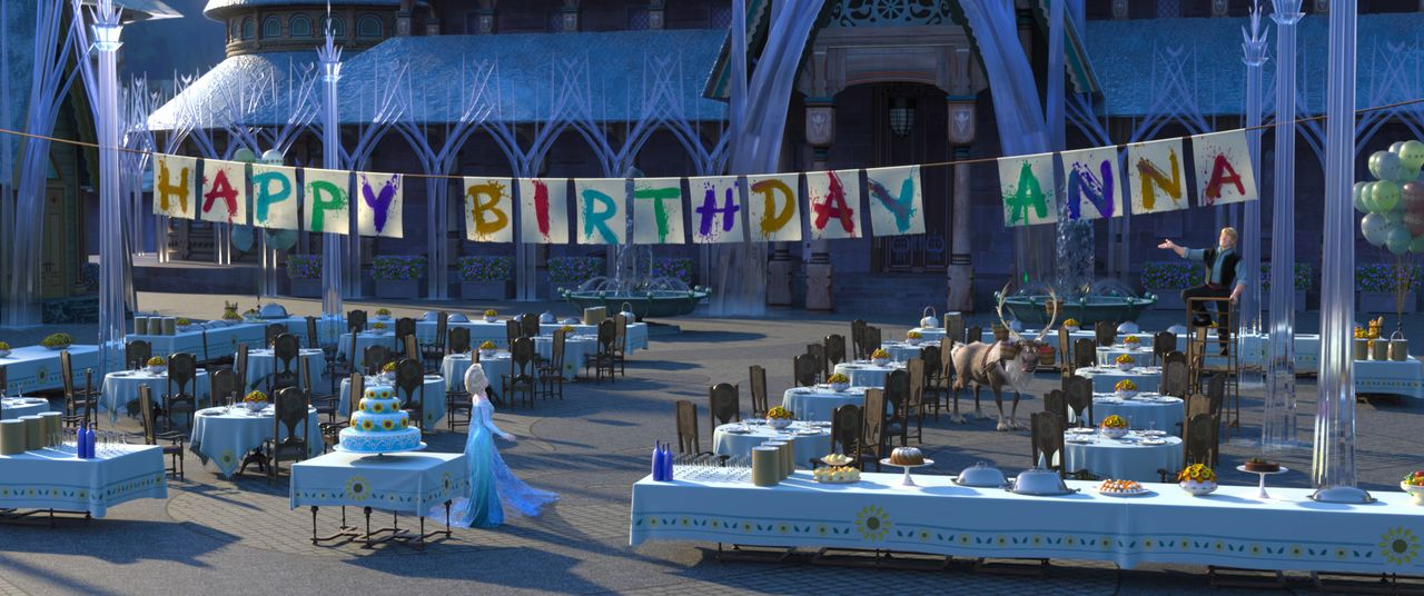 (v.l.n.r.) Elsa; Sven; Hans - Bildquelle: Disney Enterprises, Inc.