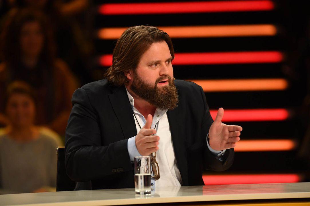 """Wie wird sich Antoine Monot, Jr. bei """"Genial daneben"""" schlagen? - Bildquelle: Willi Weber SAT.1"""