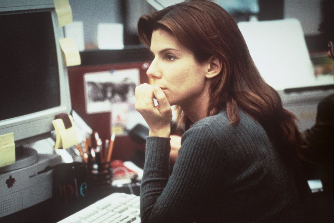 Als die Systemanalytikerin Angela Bennett (Sandra Bullock) einem folgenreichen Komplott auf die Spur kommt, gerät ihr Leben total aus den Fugen ... - Bildquelle: Columbia Pictures Corporation
