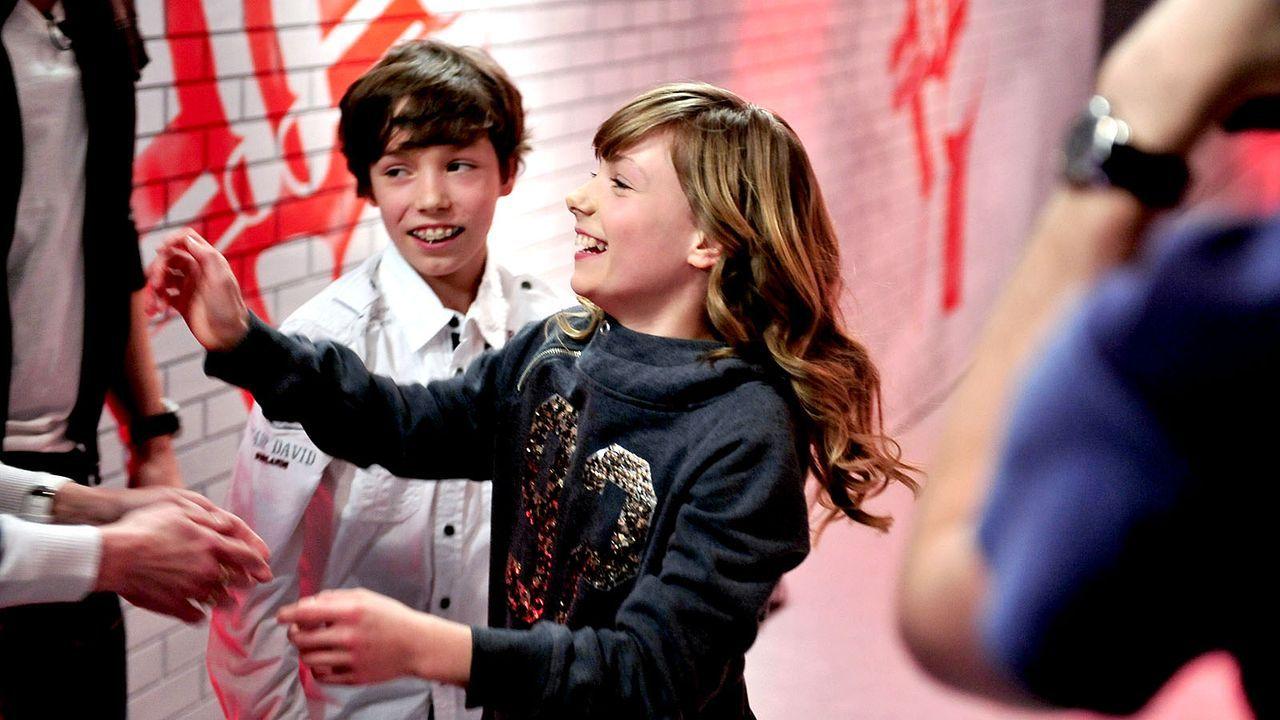 The-Voice-Kids-s01e01-Marie-052 - Bildquelle: SAT.1/Andre Kowalski