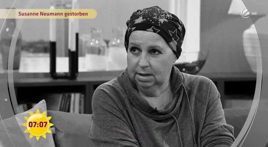 Frühstücksfernsehen Video Nachruf Susanne Neumann Gestorben Sat1