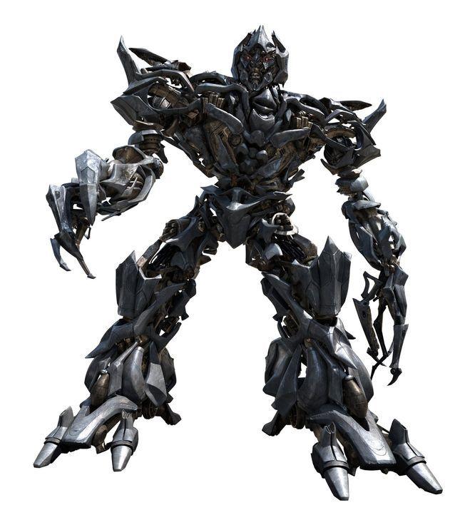 Einst regierten die Brüder Optimus Prime und Megatron (Bild) gemeinsam den Planeten Cybertron, doch insgeheim scharte der machthungrige Megatron ei... - Bildquelle: 2008 DREAMWORKS LLC AND PARAMOUNT PICTURES CORPORATION. ALL RIGHTS RESERVED.