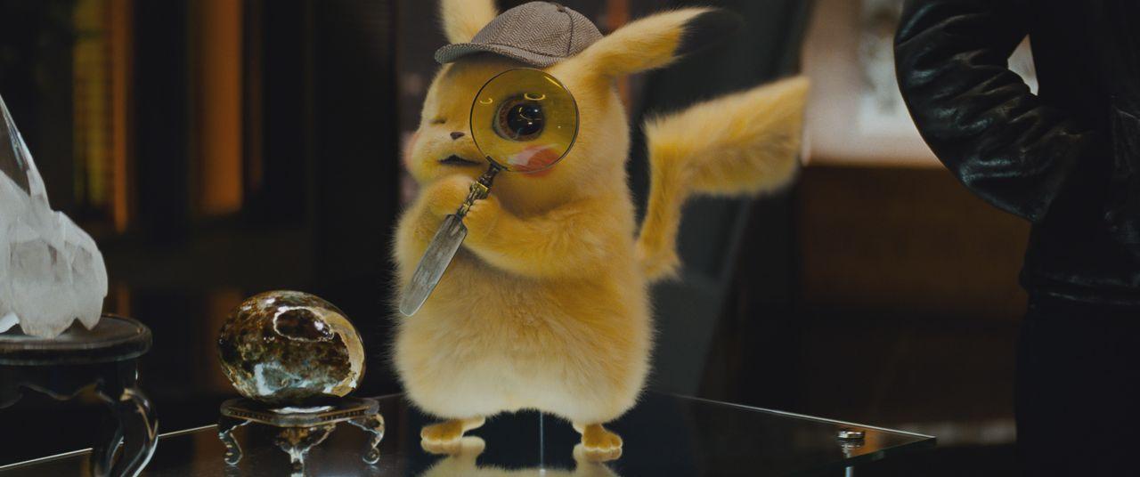 Meisterdetektiv Pikachu - Bildquelle: Giles Keyte 2018 Legendary and Warner Bros. Entertainment Inc. All Rights Reserved. / Giles Keyte