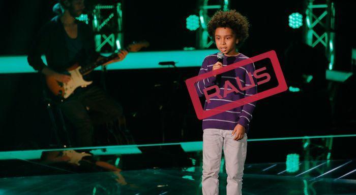 The-Voice-Kids-Stf04-RAUS-Amaro-SAT1-Richard-Huebner - Bildquelle: © SAT.1/ Richard Hübner