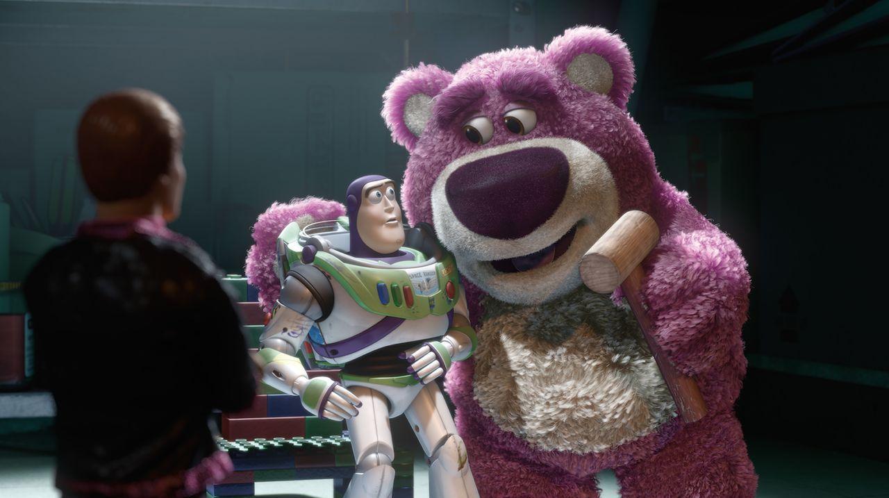 Buzz Lightyear (l.); Lotso (r.) - Bildquelle: Disney/Pixar