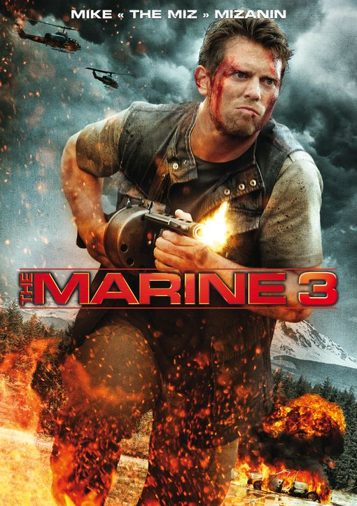 MARINE 3: THE HOMEFRONT - Plakat - Bildquelle: 2013 Twentieth Century Fox Film Corporation. All rights reserved. WWE, the WWE logo and The Miz are trademarks of World Wrestling Entertainment, Inc