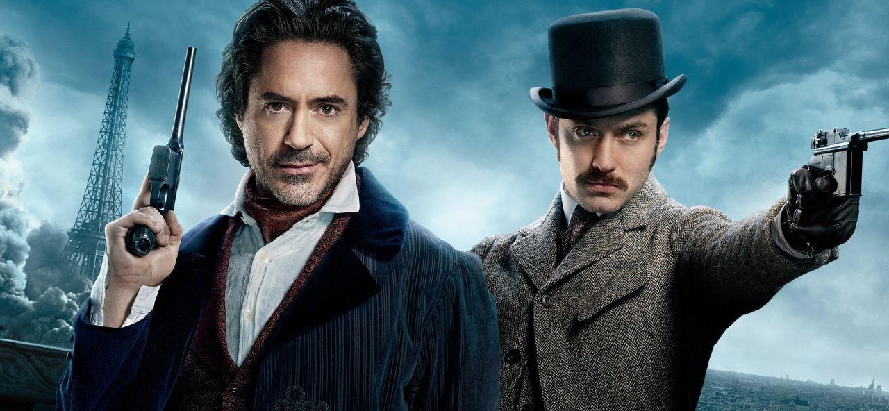 Sherlock Holmes - Spiel im Schatten - Artwork - Bildquelle: Warner Bros.