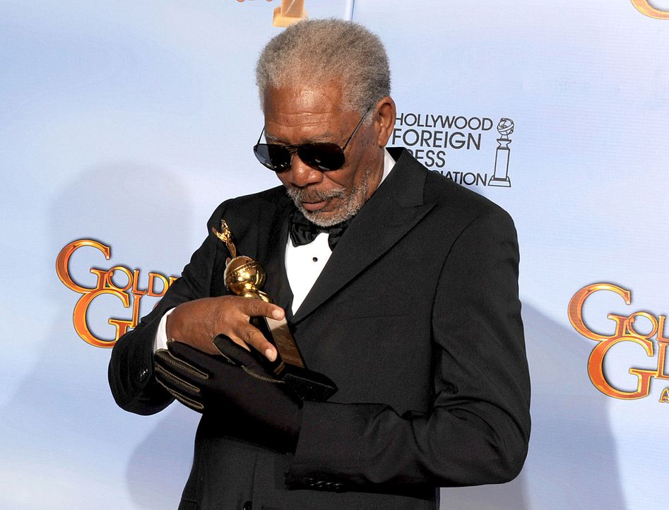 golden-globes-morgan-freeman-12-01-15-getty-AFP - Bildquelle: getty-AFP