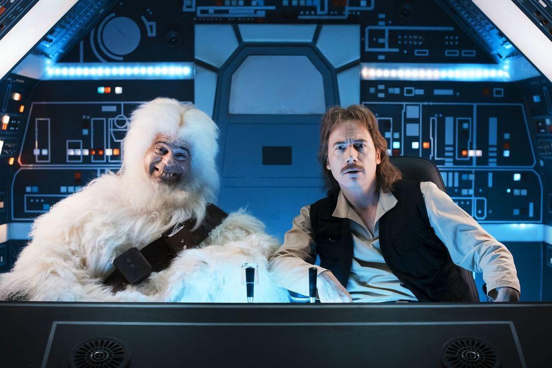 "Yeti (Rick Kavanian, l.); Sigi Solo (Michael ""Bully"" Herbig, r.) - Bildquelle: Warner Bros."