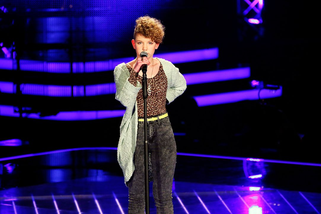The-Voice-Kids-Stf03-Epi02-Danach-Sissi-1-SAT1-Richard-Huebner - Bildquelle: SAT.1/Richard Huebner