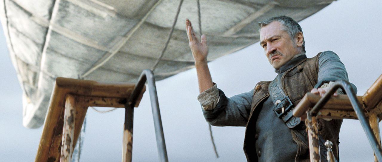 Er ist eigentlich ein gutherziger Mensch: Captain Shakespeare (Robert De Niro) erklärt sich deshalb bereit, Tristan und Yvaine zurück nach Wall zu... - Bildquelle: 2006 Paramount Pictures. All Rights Reserved.