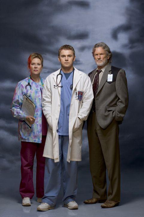 Das Krankenhaus ist vollkommen überfüllt mit den Opfern des Tropensturms, die Ärzte sind überlastet, doch gemeinsam kämpfen Chuck Whortle (Kris Kris... - Bildquelle: MMV Paramount Pictures Corporation. All Rights Reserved.