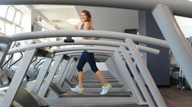 Routine, um schnell Gewicht im Fitnessstudio Los Pinos zu verlieren