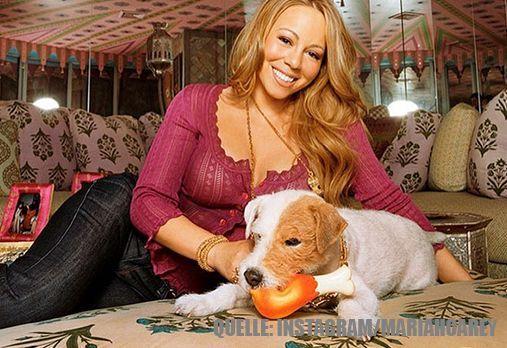 Mariah Carey_HundImBett