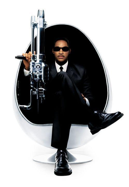 Immer einen lockeren Spruch parat: Agent J (Will Smith) ... - Bildquelle: 2003 Sony Pictures Television International