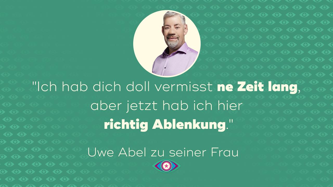 Uwe Abel über seine Frau