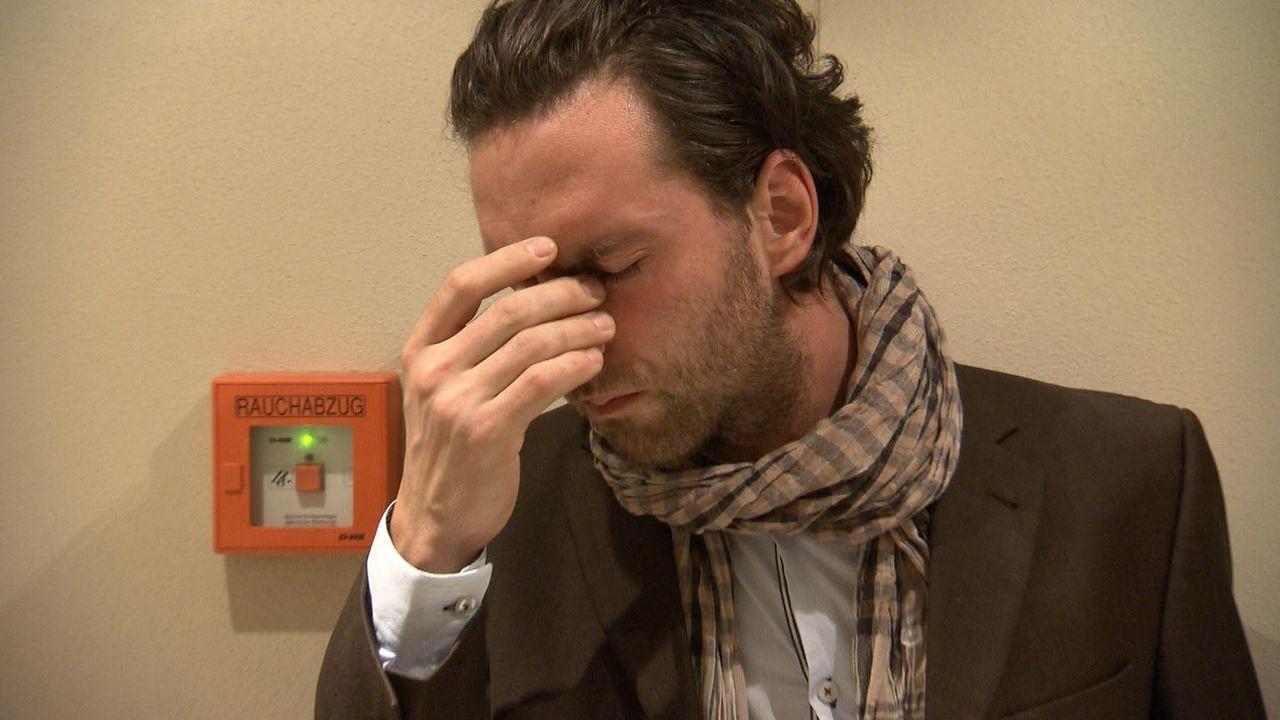 Michael (Bild) hat ein Geheimnis vor seiner Verlobten Marion ... - Bildquelle: SAT.1