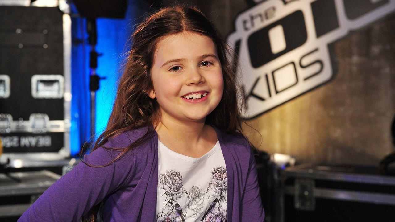 The-Voice-Kids-Stf02-Epi05-Larissa-5-SAT1-Andre-Kowalski - Bildquelle: SAT.1/Andre Kowalski